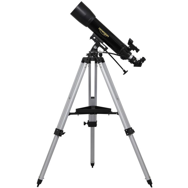 Das-Teleskop-wird-komplett-mit-Stativ-Montierung-und-Optik-geliefert-Mit-der-azimutalen-Montierung-faellt-es-leicht-Ziele-am-Himmel-und-auf-der-Erde-zu-finden-